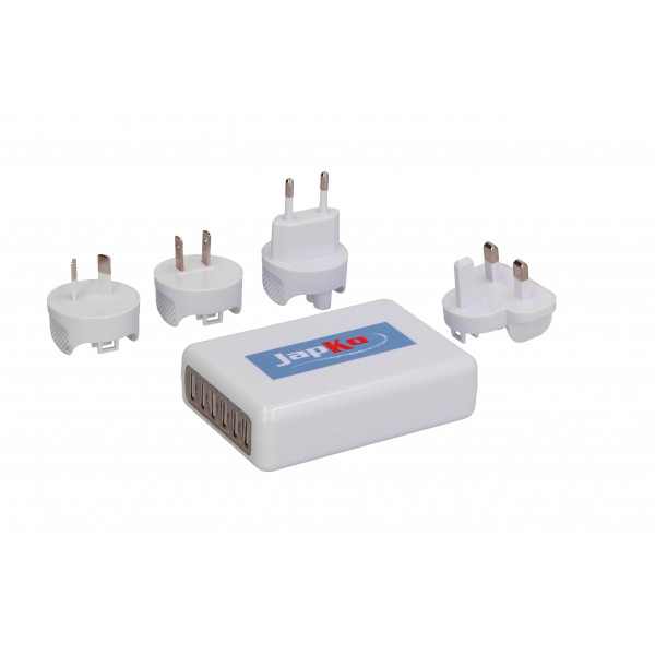 WORLD TRAVEL ADAPTER & USB CHARGER
